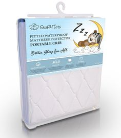 Playard Mattress Pad  Best Fit for Pack n Play and Mini & Portable Cribs