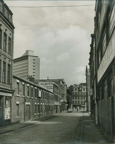 Stowell Street, Newcastle in the before it became China Town. Old Photos, Vintage Photos, Blaydon Races, Great North, North East England, Slums, Local History, Historical Pictures, Durham