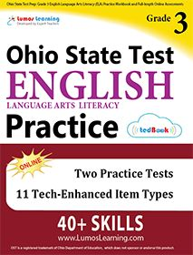 Workbooks for 2017 Ohio State Tests with standards-aligned questions, tech enhanced item types. Helps your child excel on the assessment with self paced learning and personalized score reports. Instant feedback with detailed answer explanations.