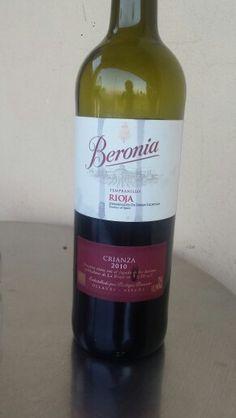 Rioja. Beronia crianza. Suave