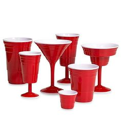f069171add0 Keep the party going with these convenient, reusable red drinkware. Perfect  for parties, barbeques, camping, or relaxing by the pool. Taking the Red  Solo ...