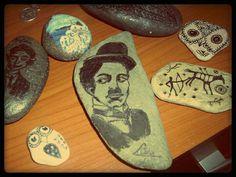 paintedpebble #stonepainting #rockpainting #pebblepainting #art #stoneart #rockart #pebbleart