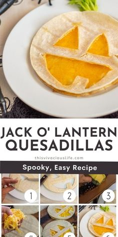 These gluten-free quesadilla jack o' lanterns are so fun! They take under 10 minutes to make and the kids will love this Halloween themed meal. Make these for lunch, an after school snack or dinner. Make with only a couple ingredients and a little creativity, this idea is an easy way to enjoy a festive meal. #HalloweenMeals #ThisVivaciousLife Gluten Free Recipes For Dinner, Gluten Free Snacks, Easy Dinner Recipes, Easy Meals, Healthy Fries, Gluten Free Stuffing, Party Sandwiches, Holiday Side Dishes