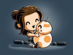 Ray loves BB-8!