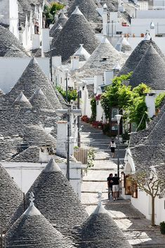 Trulli di Alberobello, Bari, Puglia, Italy. A trullo (plural, trulli) is a traditional Apulian dry stone hut with a conical roof. Their style of construction is specific to the Itria Valley, in the Murge area of the Italian region of Apulia. Trulli were generally constructed as temporary field shelters and storehouses or as permanent dwellings by small proprietors or agricultural labourers. Their golden age was the 19th century.