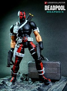 toycutter: Deadpool: Weapon X action figure