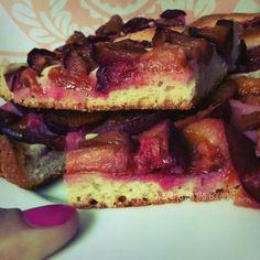 Pflaumenkuchen / plum cake #bavaria #food http://www.gorara.com/category/share-recipes/