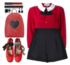 """#979 Wanda"" by blueberrylexie ❤ liked on Polyvore featuring Love Moschino, NARS Cosmetics, Chanel, Gucci, RED Valentino, Marni and Bobbi Brown Cosmetics"