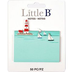 Lighthouse Sticky Notes (50pcs) Little B Paper Adhesive Notes