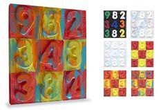 Art Projects for Kids: artist Jasper Johns