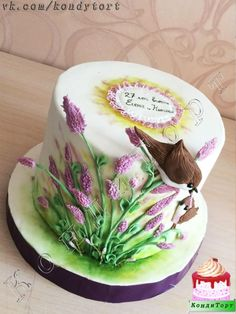 Lavender by Lala - http://cakesdecor.com/cakes/287673-lavender