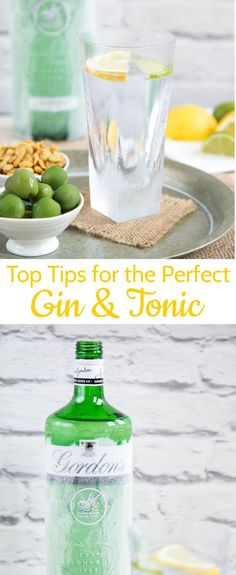 Tall and ice cold make for the perfect gin and tonic - read my top tops for an excellent drink everytime