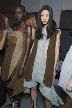 Backstage Pass: Paris Fashion Week Spring 2015 - Backstage at Rick Owens Spring 2015