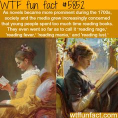 Reading rage - WTF fun facts