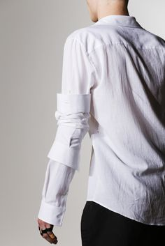 MAISON MARTIN MARGIELA, SS14 SHIRT: that crazy, reversed sleeve-that's-eating-itself-thing.