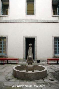 Patio Interior del Palacio Real del Infante don Luis de Borbón y Farnesio o Palacio de la Mosquera de Arenas de San Pedro. #valledeltietar