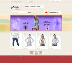 Loja virtual para venda de roupas
