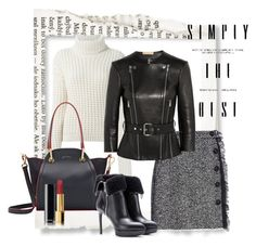 """""""Untitled #2819"""" by julinka111 ❤ liked on Polyvore featuring Fendi, Dolce&Gabbana, Maiyet, Yves Saint Laurent, Michael Kors and Chanel"""