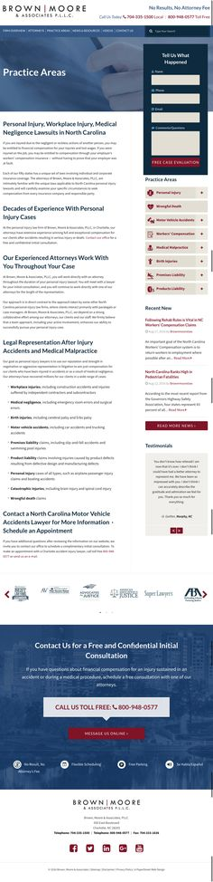 Legal practice areas | PaperStreet