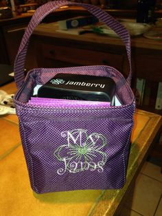 Jamberry! Great idea for Thirty One Littles Carry All!