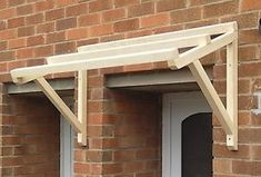Timber-Front-Door-Canopy-Porch-Hand-Made-Porch-120cm #outdoordiycanopy