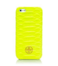 Neon Snake Hardshell Case For Iphone 5 | Womens Tech Accessories