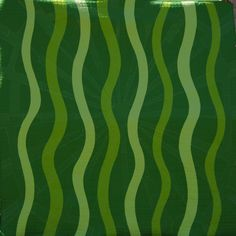 Ahhh...Quilting: back of Watermelon Wedge Quilt. The lighter colored stripes were cut out freehand with a rotary quilter then tacked down with a zigzag stitch before quilting