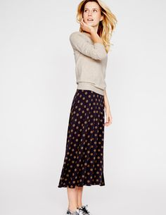 I've spotted this @BodenClothing Swishy Jersey Skirt