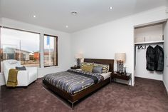 The luxurious Rochester has an abundance of rooms for family fun and entertaining. Visit: www.mimosahomes.com.au Call: 1300 MIMOSA Cupboard Storage, Furniture, Home, Ensuite, Home And Family, Theater Room, Built In Wardrobe, Home Decor, Room