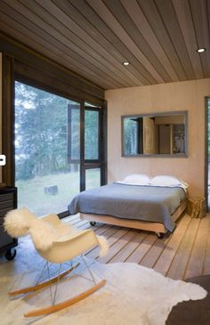 Olsen Kundig Architects One Room Cabins Cabins In The Woods Eames Cabin Design