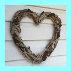 the coastal heart wreath