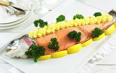 Gode tips til koldtbord   Artikkel - MatPrat Trout, Fresh Rolls, Sushi, Food And Drink, Ethnic Recipes, Kitchens