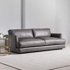 Ebony teen støbning sofa