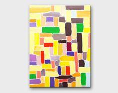 Resumen Original pintura pintura acrílica por SallyTraceFineArt