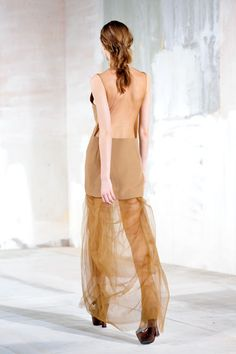 a pair and a spare . diy fashion: DIY Acne Sheer Cut Out Back Dress