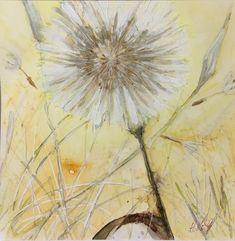 Original Art, Watercolor, Ink, Artist, Flowers, Plants, Design, Pen And Wash, Watercolor Painting