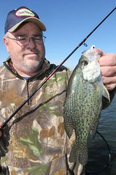 Learn how to catch wintertime crappie with Bobby Garland Crappie Baits and crappie fishing expert Gary Rowe in my latest article on Crappie.com website. Photo copyright Brad Wiegmann Outdoors. http://www.crappie.com/crappie/content.php/829-Go-Deep-for-Wintertime-Crappie