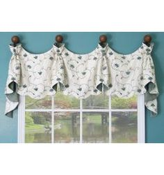 Nightingale Valance for dining room/in sheer