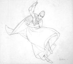 Rébecca Dautremer - Crayonné Pluie n°2 bis | Oeuvres | Galerie Robillard