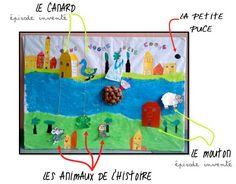 production écrite et plastique  Le bateau de Monsieur Zouglouglou