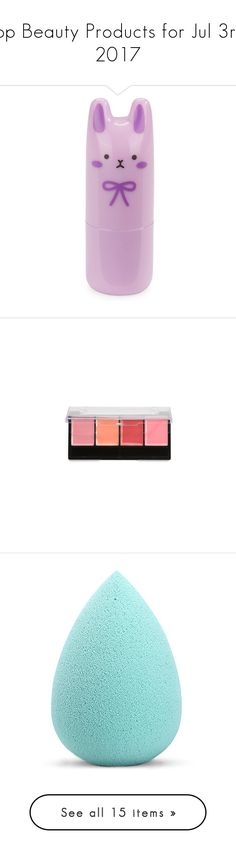 """""""Top Beauty Products for Jul 3rd, 2017"""" by polyvore ❤ liked on Polyvore featuring beauty products, fragrance, perfume fragrance, parfum fragrance, floral fragrances, tony moly, beauty accessories, bags & cases, sky blue and wash bag"""