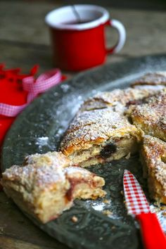 The English Can Cook: Recipe: Cherry and Cinnamon kringle #recipes #food