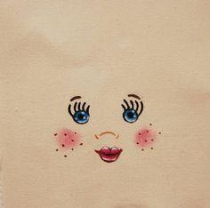 Tête pour Poupée en chiffon visage en tissu fabrication de
