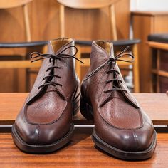 Edward Green Halifax in Mahogany Country Calf