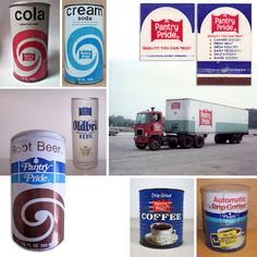 Pantry Pride collage, 1970s.