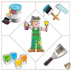 This page has a lot of free easy Community helper puzzle for kids,parents and preschool teachers. Community Helpers Worksheets, Community Helpers Preschool, Preschool Education, Preschool Learning, Learning Activities, Preschool Activities, Puzzles Für Kinder, Puzzles For Kids, Worksheets For Kids