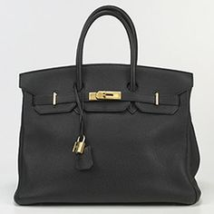 Hermes Berkin Bag... A man could propose to me with this bag!!! (Yes. This bag is THAT serious! Lol)