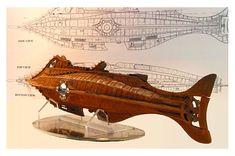 Une illustration du Nautilus d'après Jules Verne Jules Verne, Science Fiction, Nautilus Submarine, Best Scale, Leagues Under The Sea, Sci Fi Ships, Nuclear Power, American Civil War, Native American