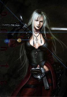 Warrior lady.