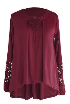 What a modern style to get with $16.99&7 Days Only! You would be cool in this casual top. Improved quality & free shipping! Cupshe.com will give you a warm and chic look.